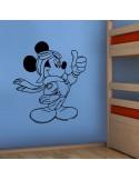Sticker Mickey aviateur