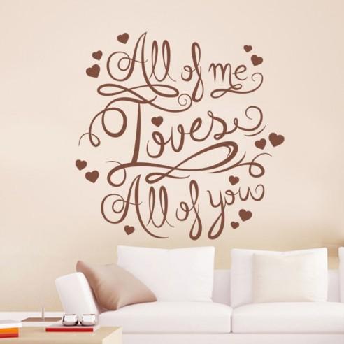 Sticker positive amour