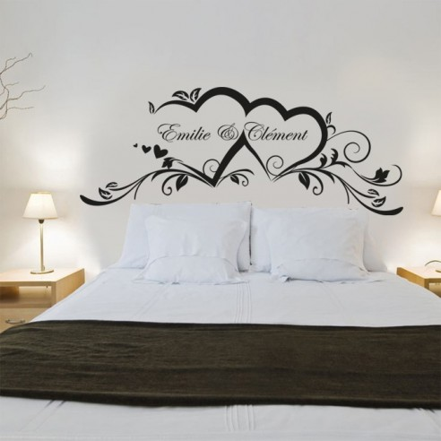Sticker chambre adulte perfect photo with sticker chambre for Stickers phrase chambre adulte