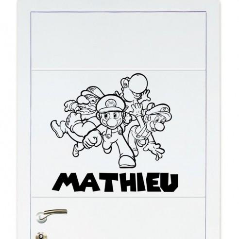 Sticker Mario Bros personnalisé