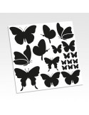 Planche stickers papillons