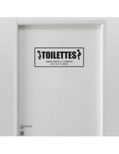 Stickers toilette