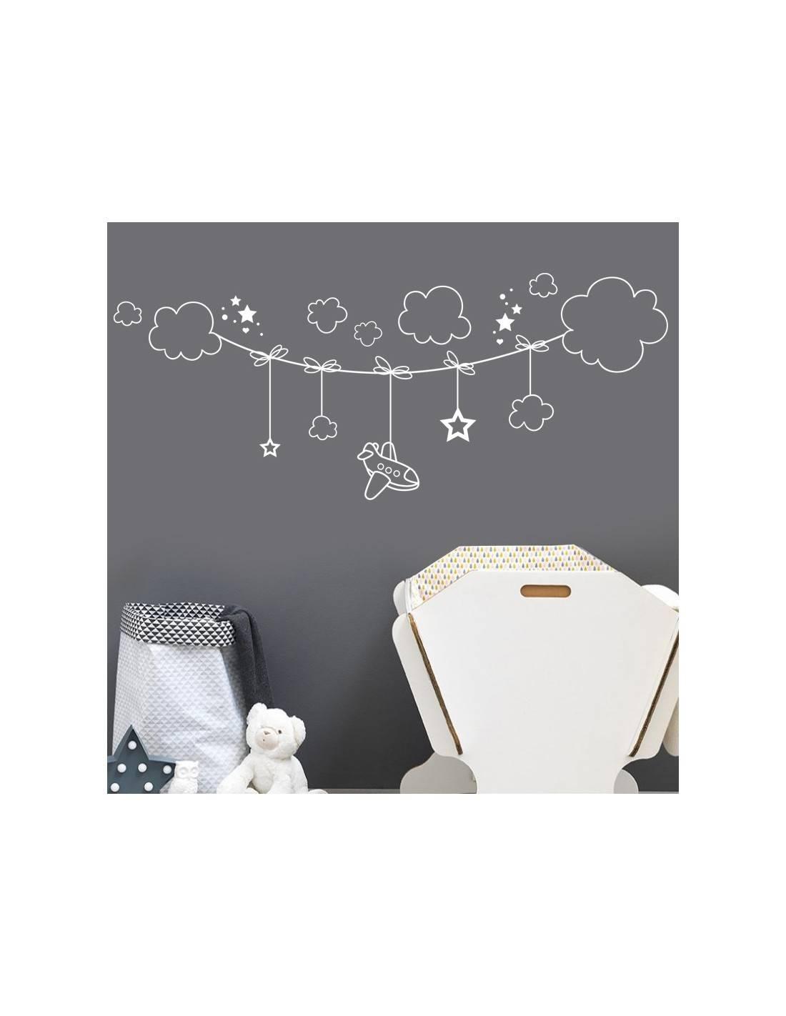 Stickers décoration pour chambre bébé