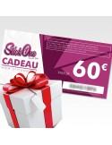 Carte cadeau de 60€