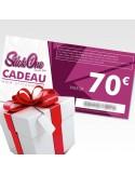 Carte cadeau de 70€