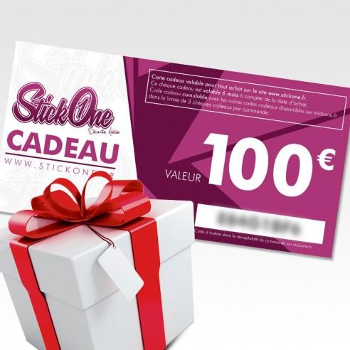 Carte cadeau de 100€