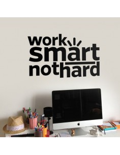 Sticker work smart