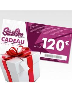 Carte cadeau de 120€