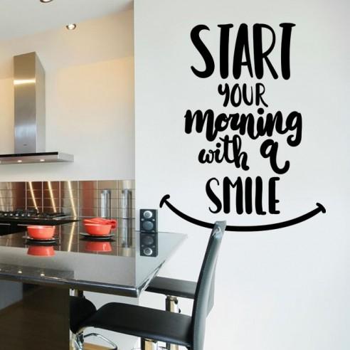Sticker start your morning