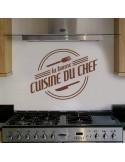Stickers la bonne cuisine du chef