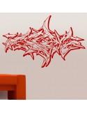 Stickers muraux graffiti