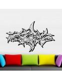 Sticker tag graffiti