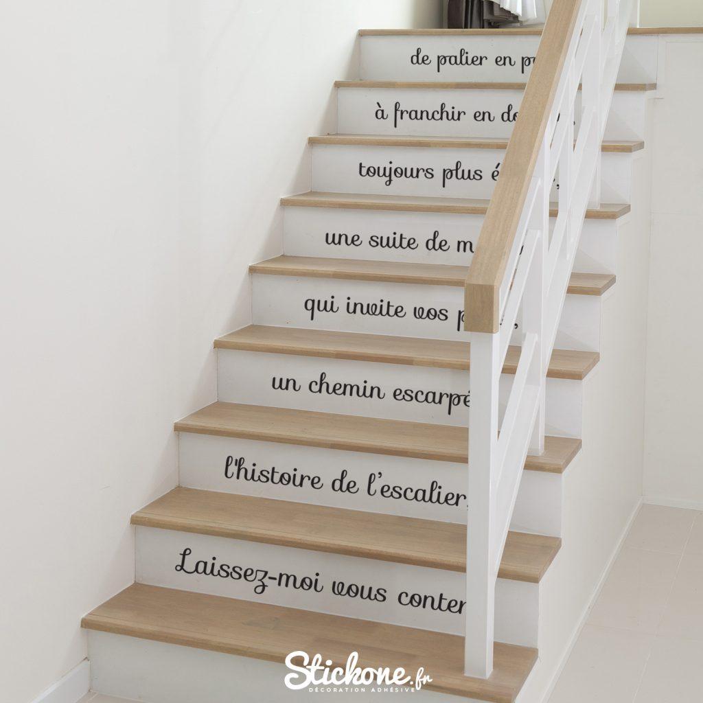 citation escaliers