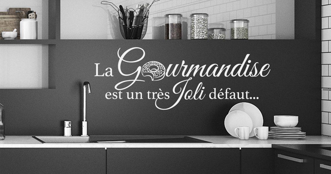 décoration stickers cuisine