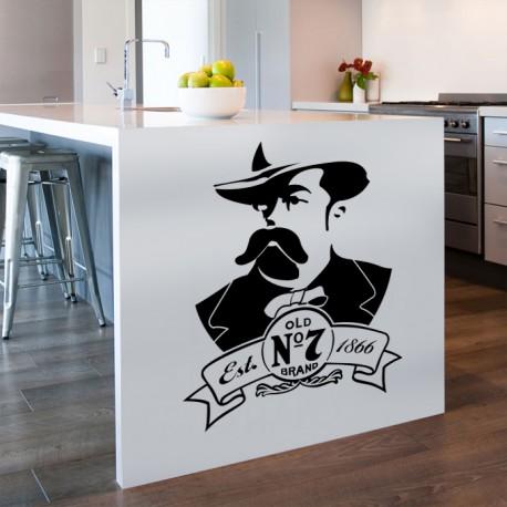 création décoration jack daniel's