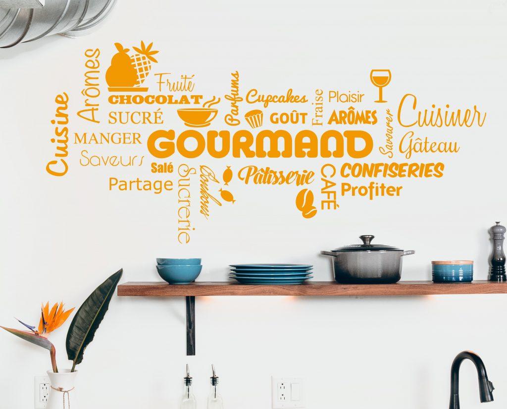 décoration murale cuisine