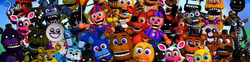 Stickers fnaf - Stickers muraux chambre enfant