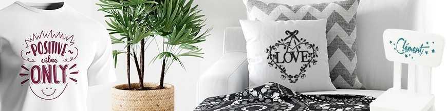 Personnalisez votre déco d'intérieur. Customisation DIY objet, textile...