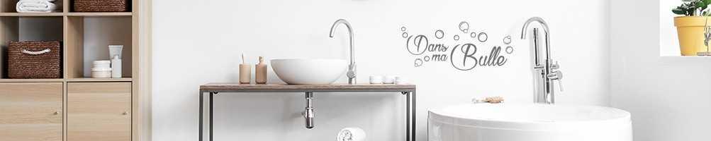 Stickers salle de bain. Décoration salle de bain, stickers et adhésifs