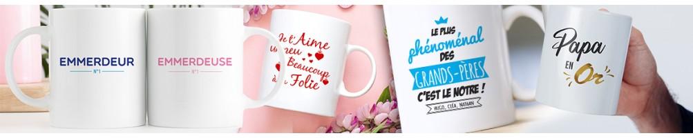 Mug et tasse Personnalisés - Mug déco originale imprimé en France