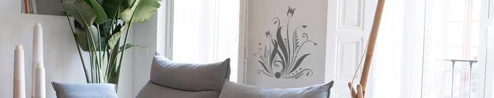 Stickers de décoration d'intérieur thème nature - Stickers muraux