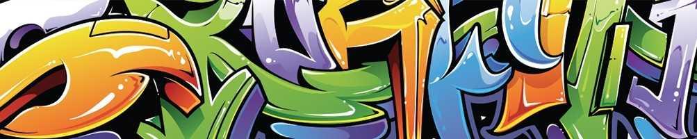 Stickers décoration tag et graffiti personnalisés - Stickers muraux