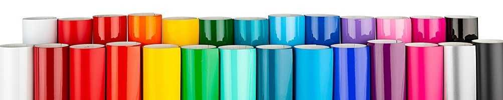 Film adhésif couleur unie mat ou brillant vendu au mètre linéaire