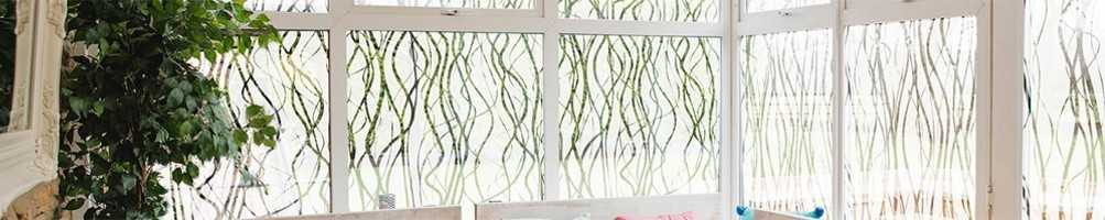 FIlms décoratifs design pour surface vitrée : fenêtre, baie, vitre...