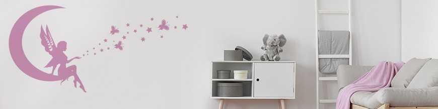 Stickers chambre fille - Stickers muraux enfant et bébé - Stickone.fr