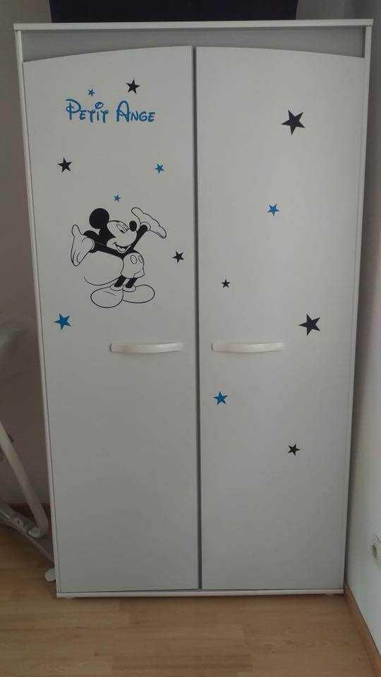 décoration armoire enfant