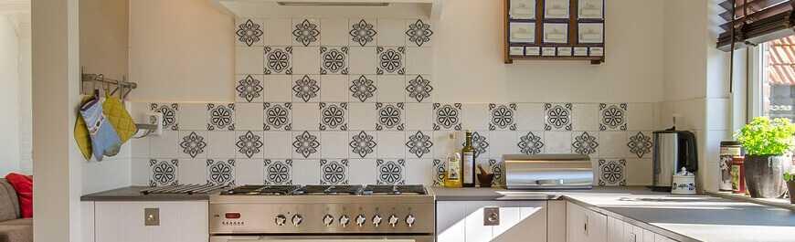 stickers pour décoration carrelage mural de cuisine