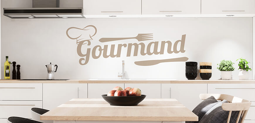 sticker-mural-cuisine-gourmand