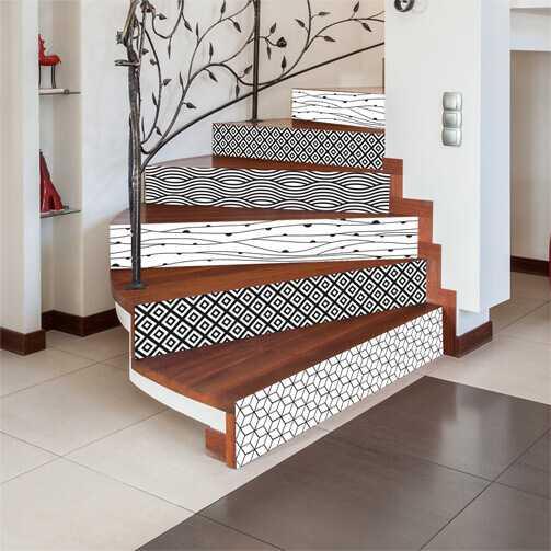 sticker contremarche d'escalier