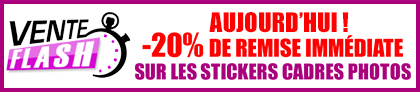 vente flash stickers muraux