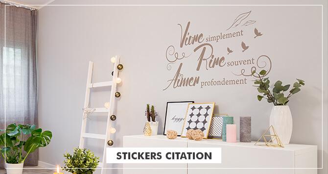 Stickers citation