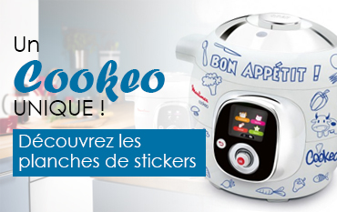 stickers personnalisation cookeo