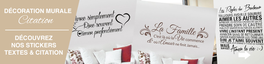 stickers muraux thème amour couple