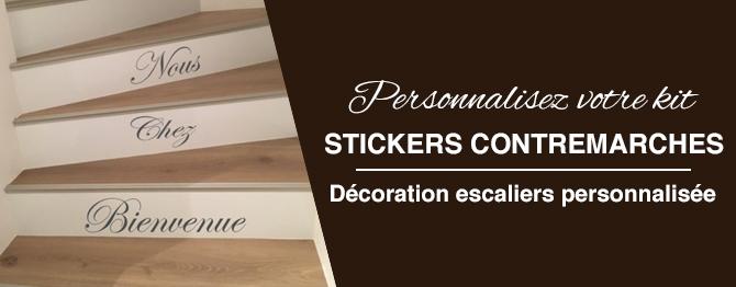 stickers citaiton contremarche escaliers